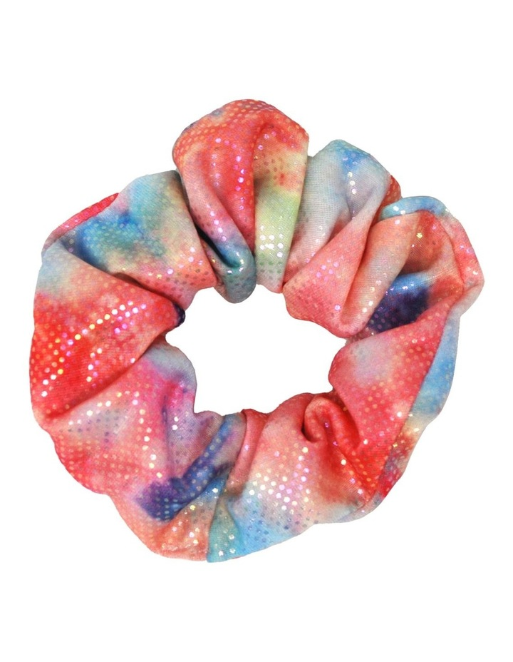 Rainbow Splash Shimmering Scrunchie image 3