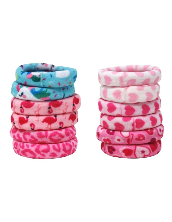 Snag Free Printed Hair Elastics - Available in 2 Colourways image 1