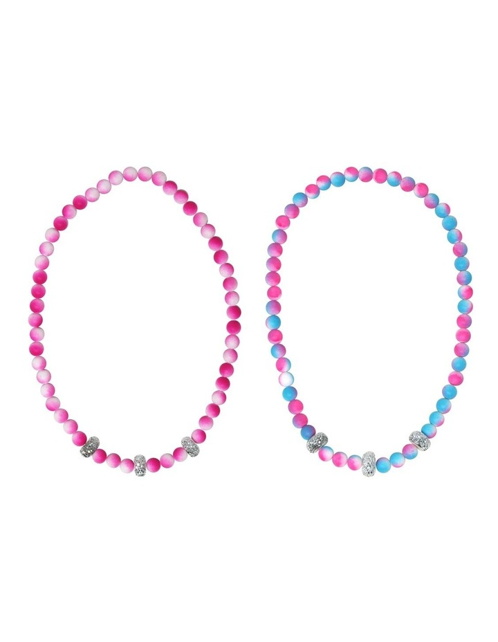 Ombre Rubber Touch Necklace - Available in 2 colourways image 1