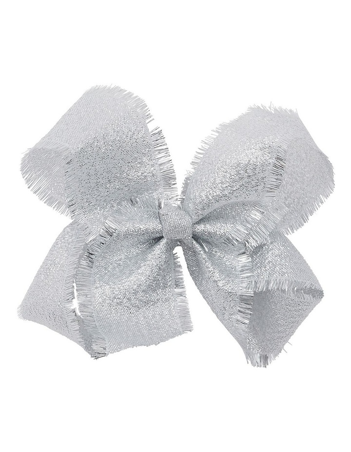 Medium Tinsel Trim - Silver image 1