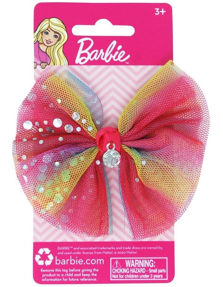 Barbie Rainbow Bow Hair Clip image 1