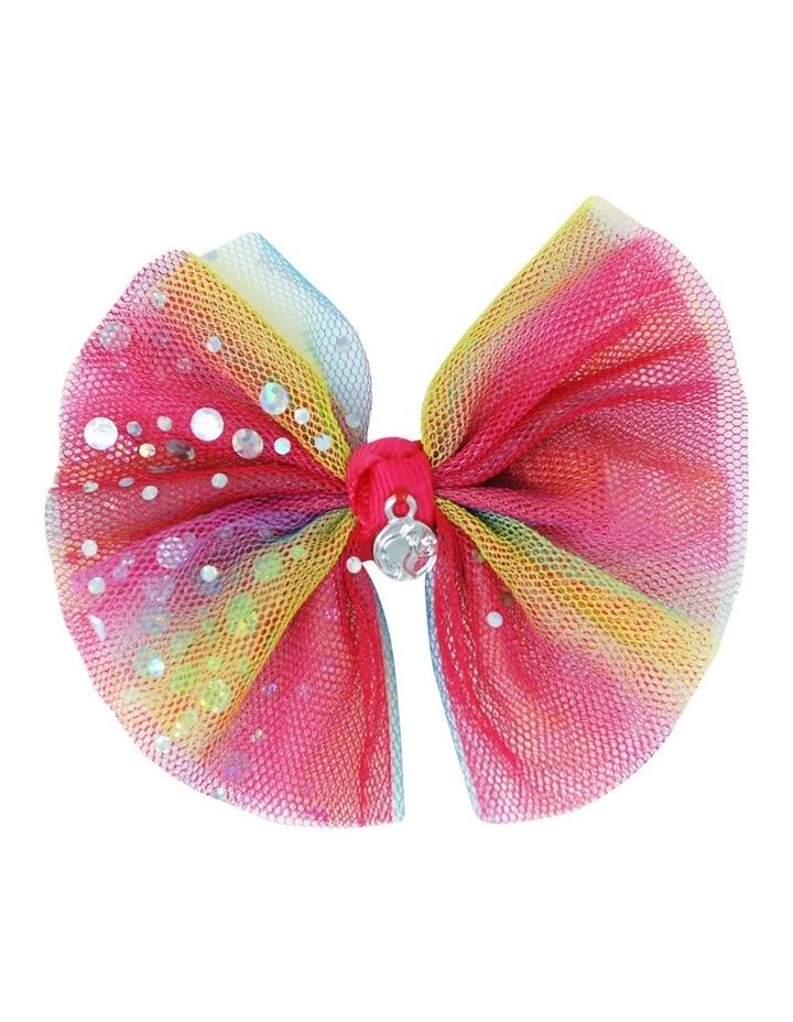 Barbie Rainbow Bow Hair Clip image 2
