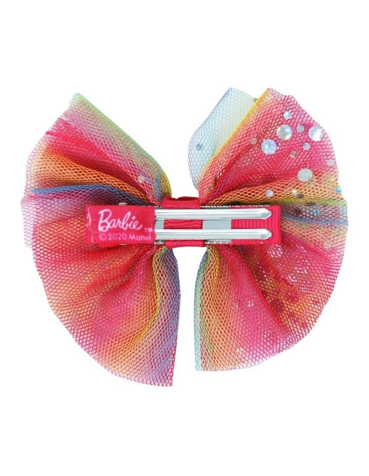 Barbie Rainbow Bow Hair Clip image 3