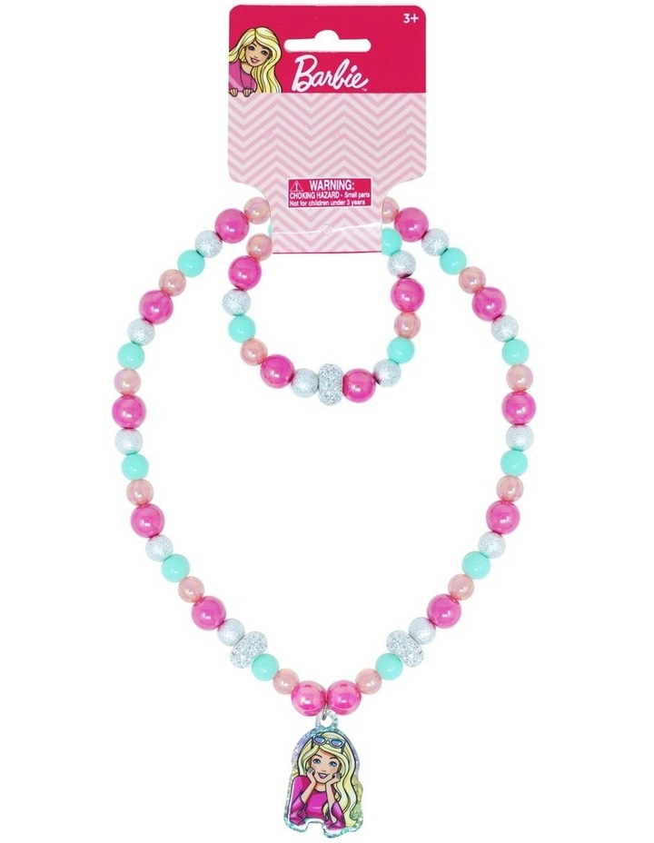 Barbie Necklace & Bracelet Set image 1