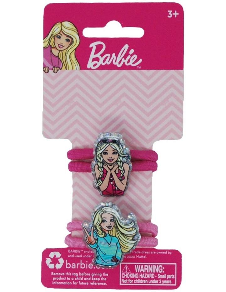 Barbie Hair Elastics 2 Piece Set image 2