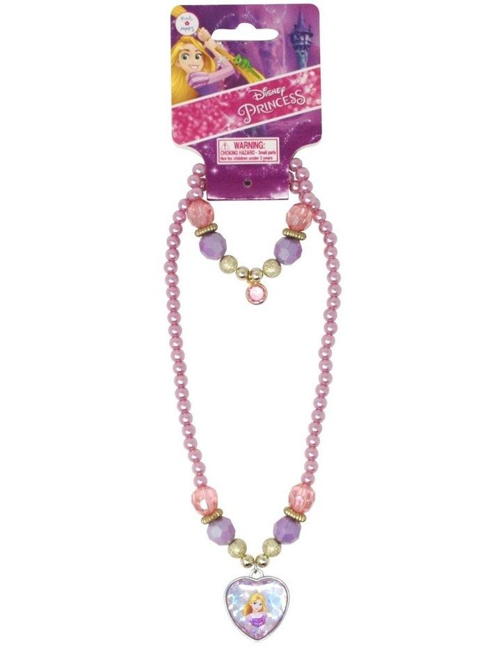 Disney Princess Rapunzel Necklace & Bracelet Set image 1