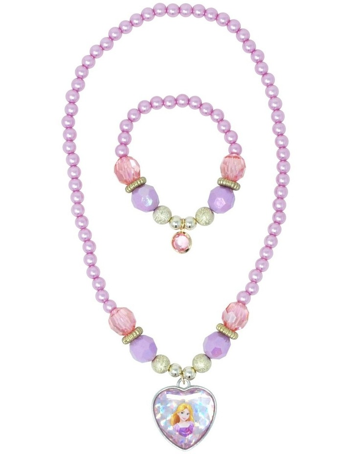Disney Princess Rapunzel Necklace & Bracelet Set image 2