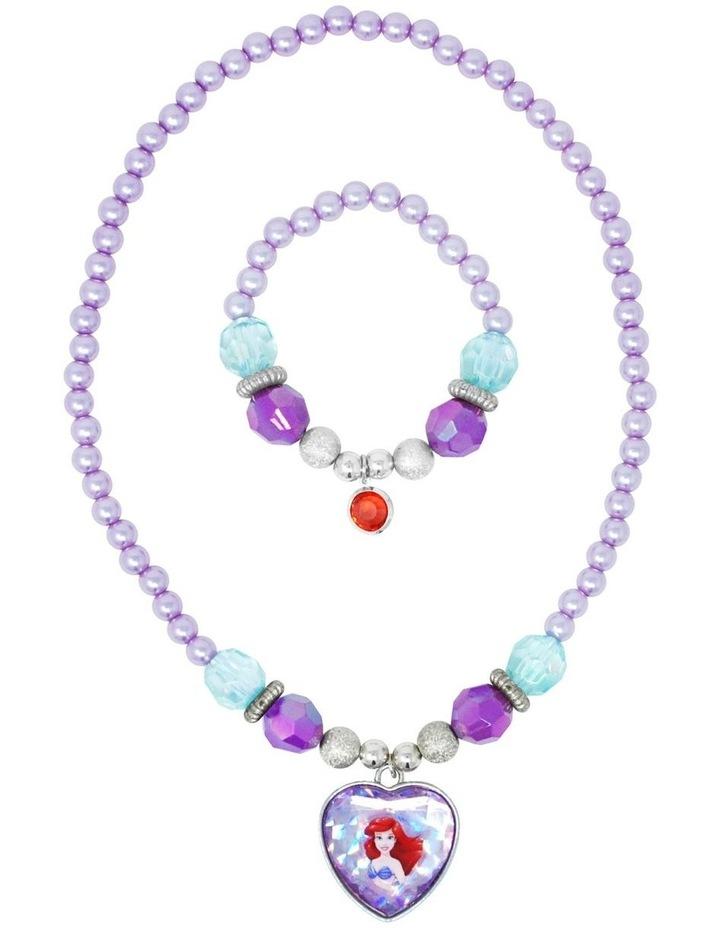 Disney Princess Ariel Necklace & Bracelet Set image 2