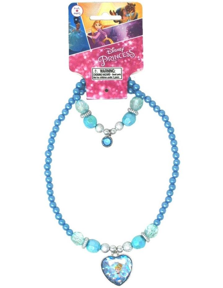 Disney Princess Cinderella Necklace & Bracelet Set image 1