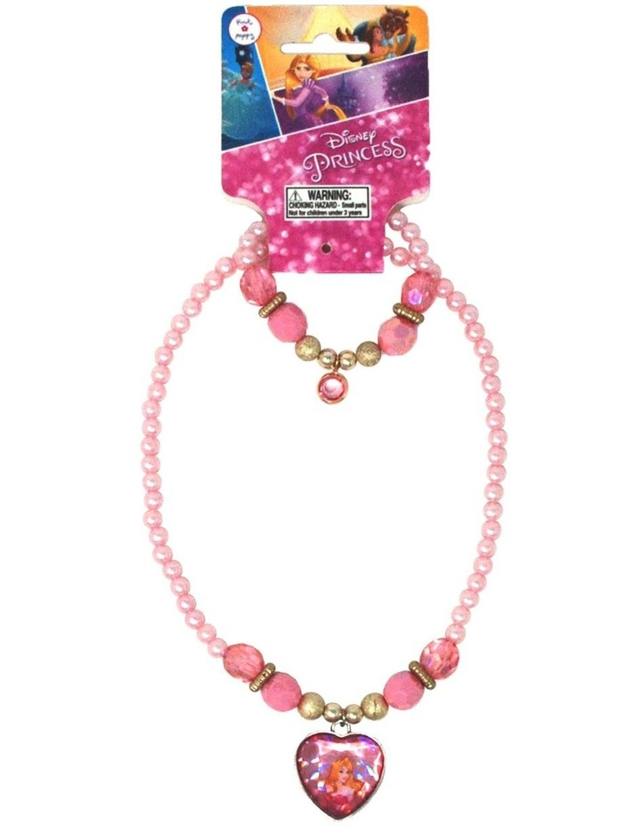 Disney Princess Aurora  Necklace & Bracelet Set image 1