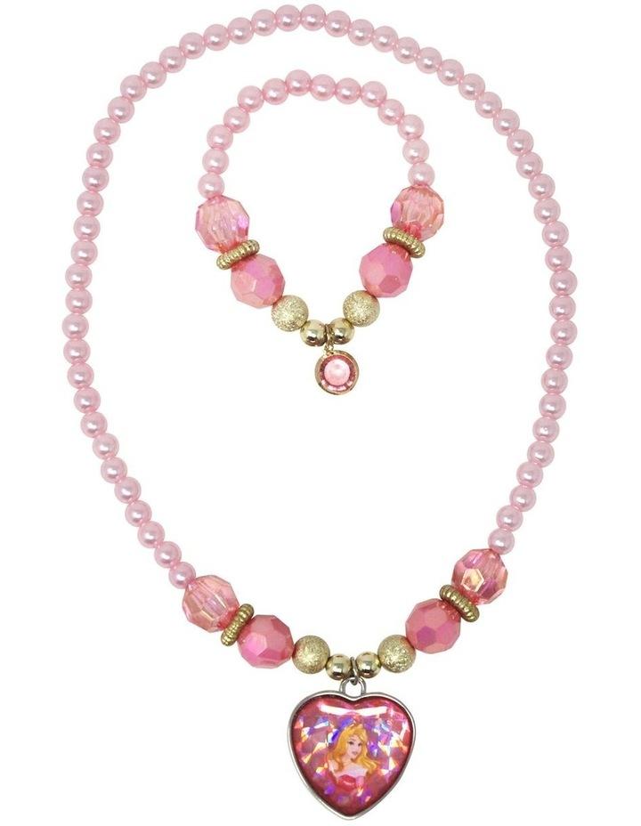 Disney Princess Aurora  Necklace & Bracelet Set image 2