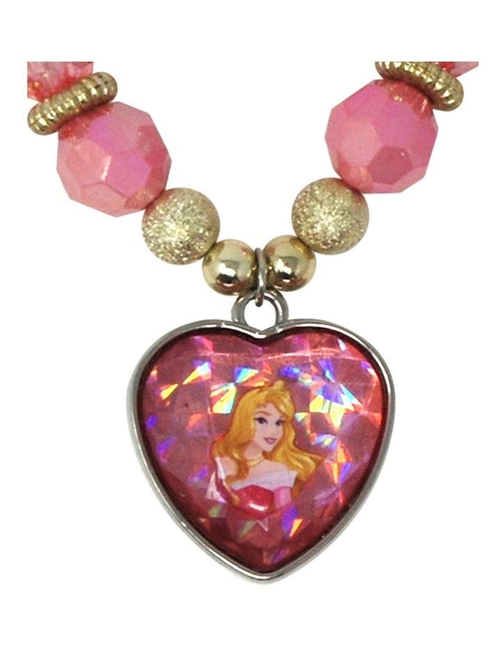 Disney Princess Aurora  Necklace & Bracelet Set image 3