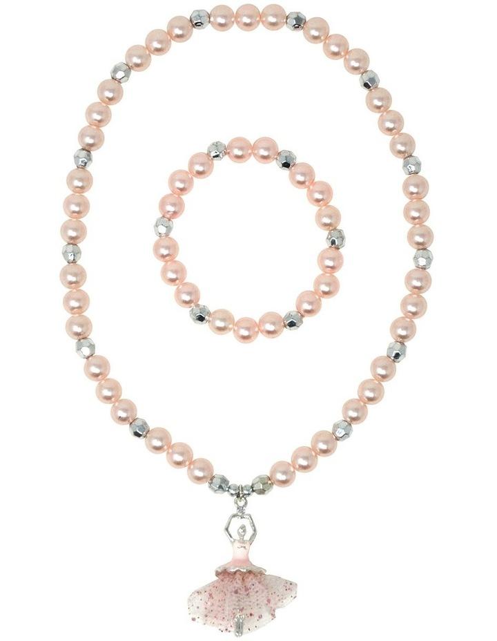 Little Ballet Dancer Necklace & Bracelet Set image 2