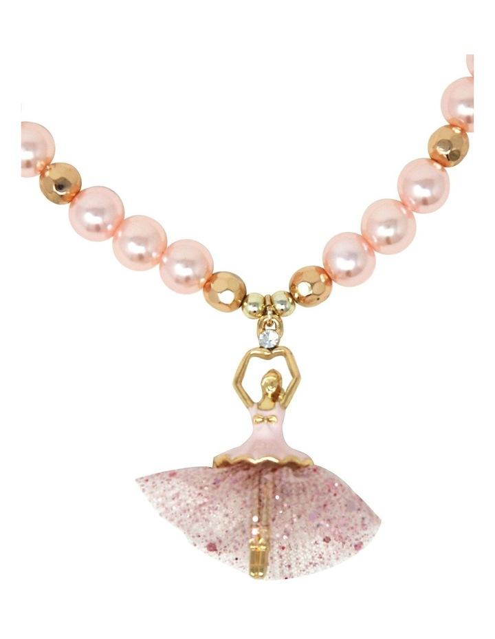 Little Ballet Dancer Necklace & Bracelet Set image 4