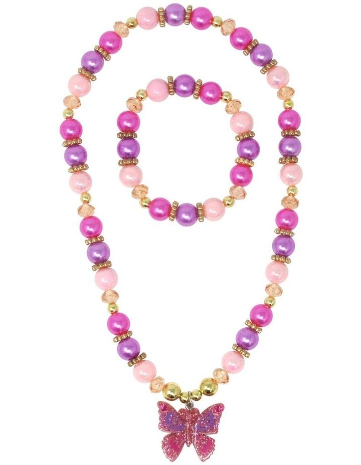 Butterfly Skies Necklace & Bracelet Set image 1
