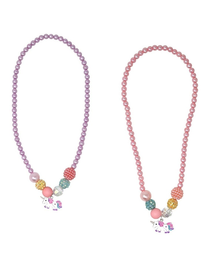 My Little Unicorn Necklace - Available in 2 Colourways. Each sold separately image 1