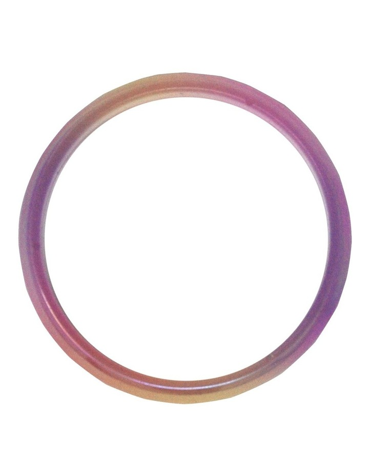 Pastel Iridescent Multi Colored Bangle. Available in 2 Colourways. Each sold Separately image 3
