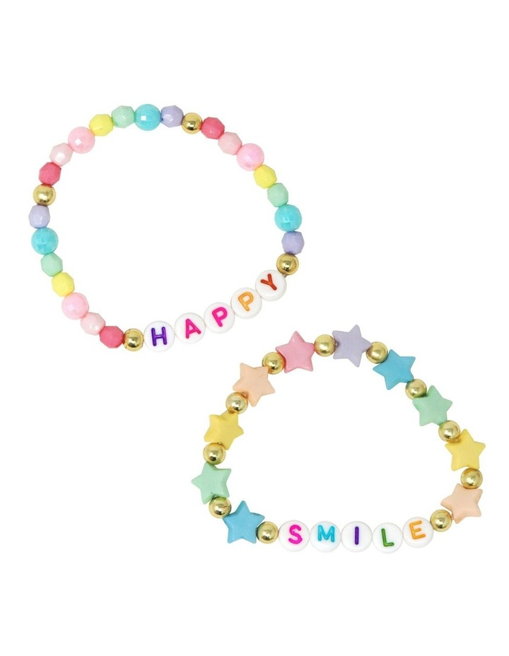 Smile Be Happy Bracelet Duo image 1