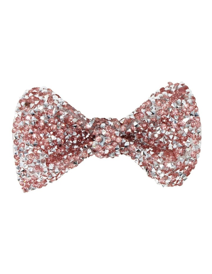 Encrusted Gemstone Hair Bow-Party. Available in 2 Colourways. Each sold Seperately image 4