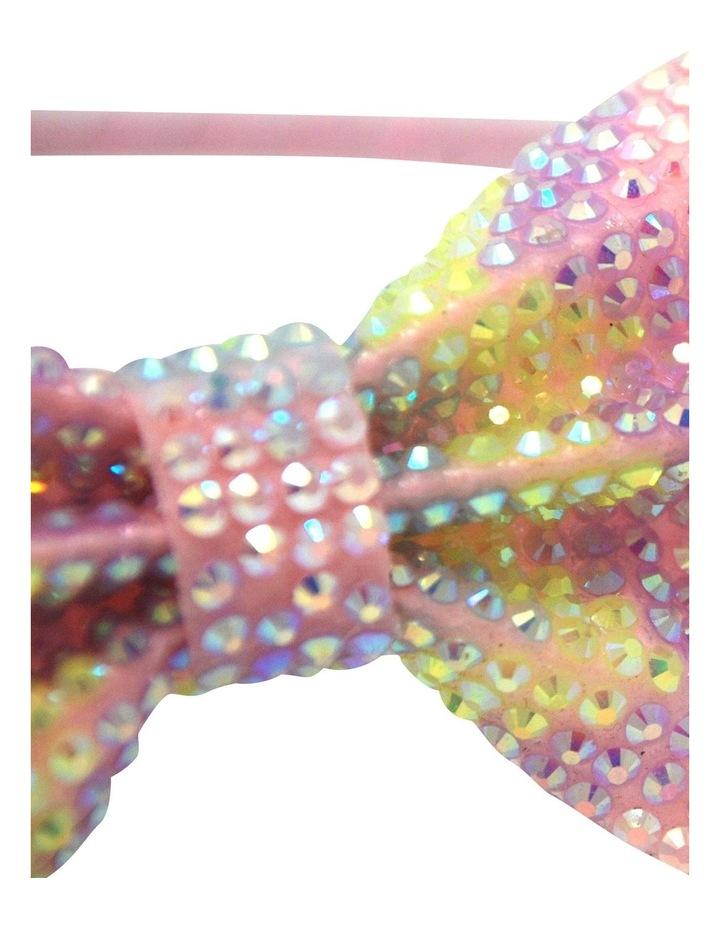 Pastel Gemstone Bow Headband image 3