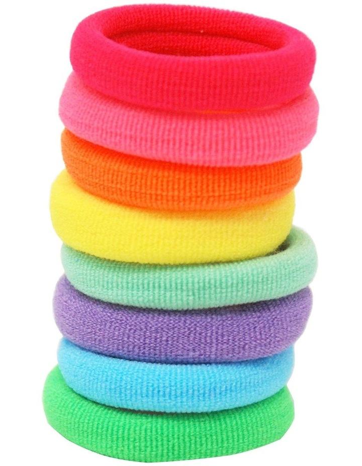 Colour Burst Snag Free Hair Elastics image 1