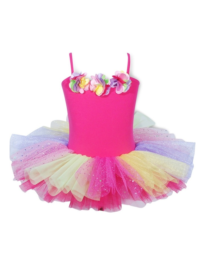 Ballerina Bouquet Tutu Size 3/4-Hpink image 1