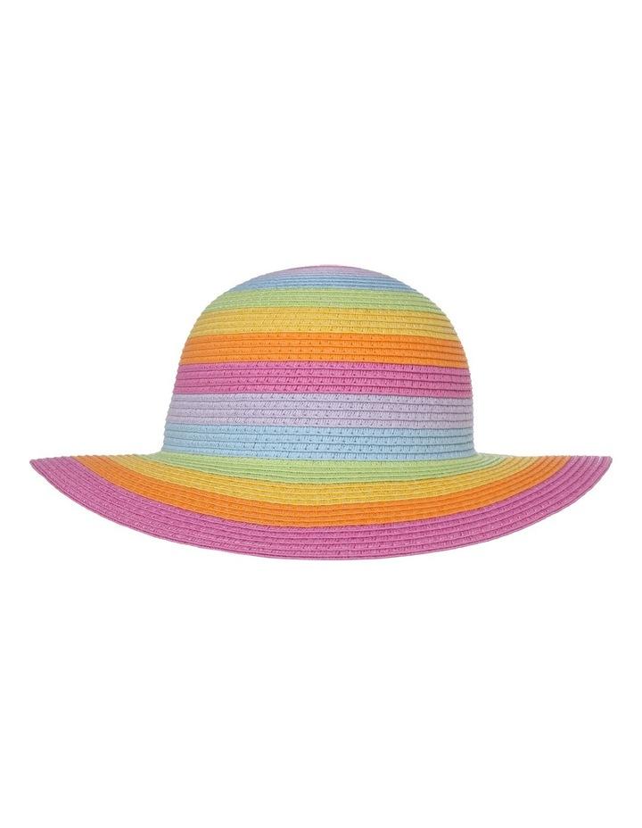 bfc32f2155 Rainbow Floppy Hat image 1