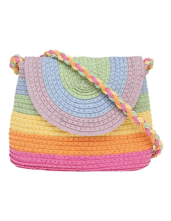 Straw shoulder bag image 1