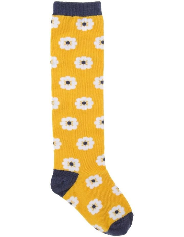Floral Knee High Socks image 1