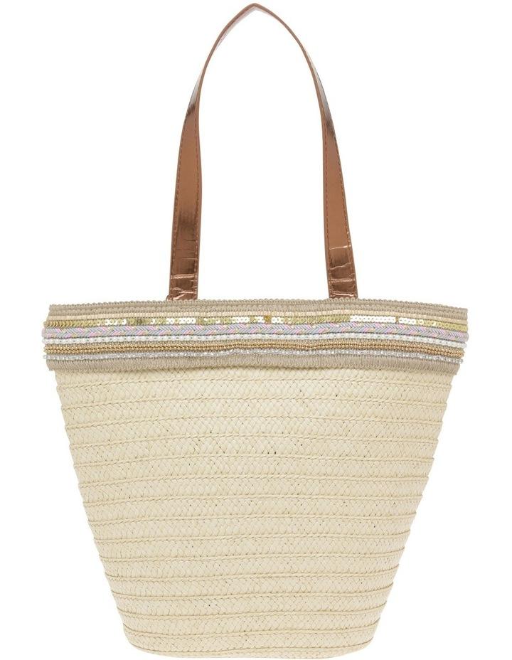 Paper Bag with Metallic Braid image 1