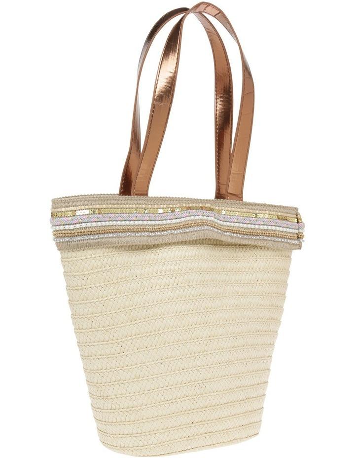 Paper Bag with Metallic Braid image 2