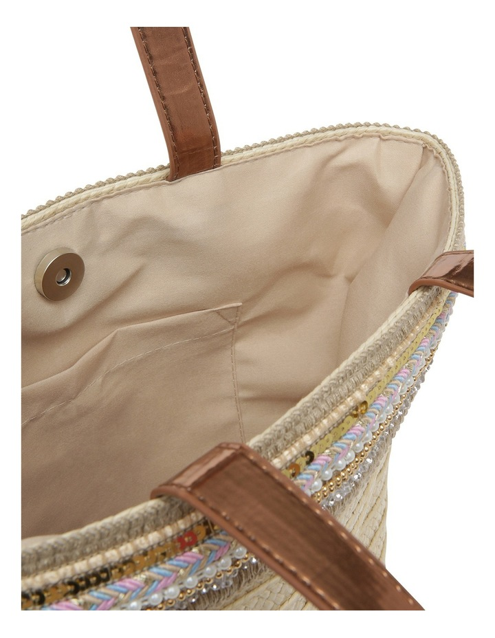 Paper Bag with Metallic Braid image 4