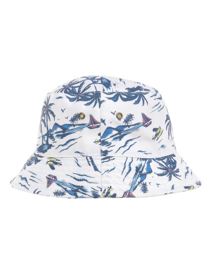Boys Bucket Hat with Palm Print image 2