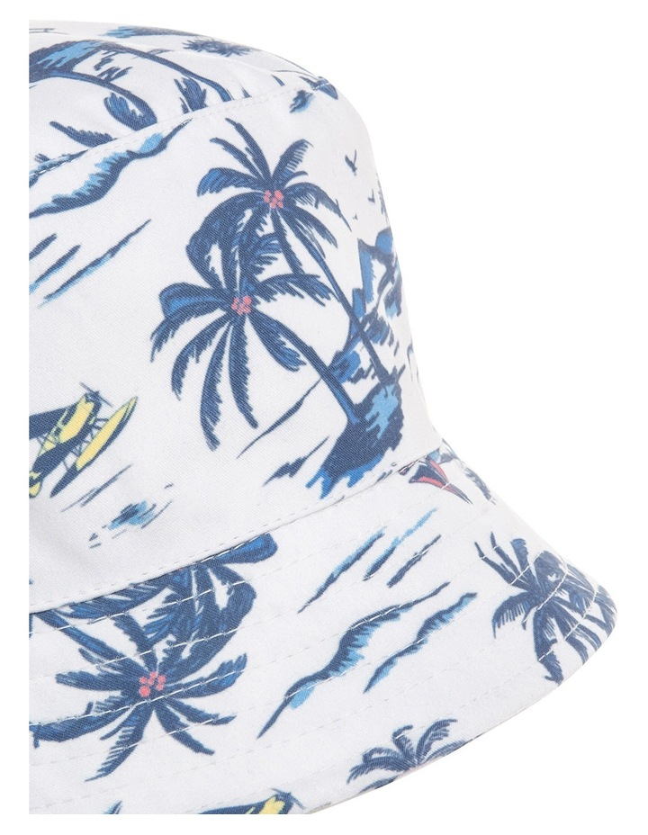 Boys Bucket Hat with Palm Print image 3