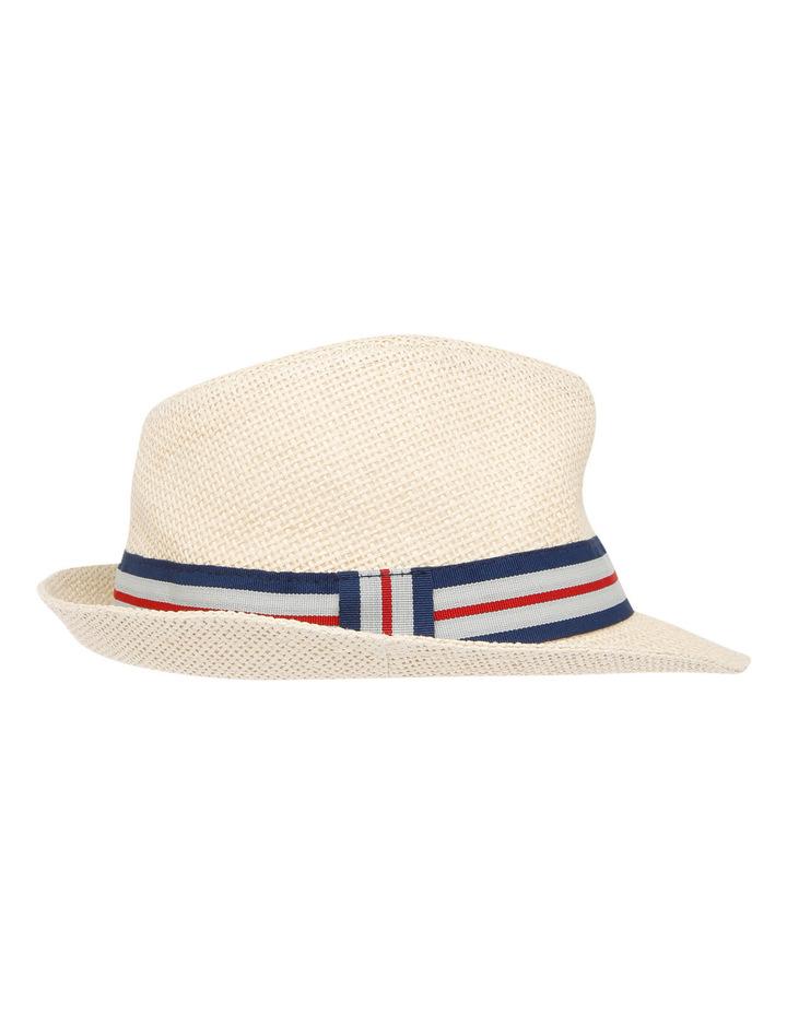Boys Open Weave Trilby Hat image 2