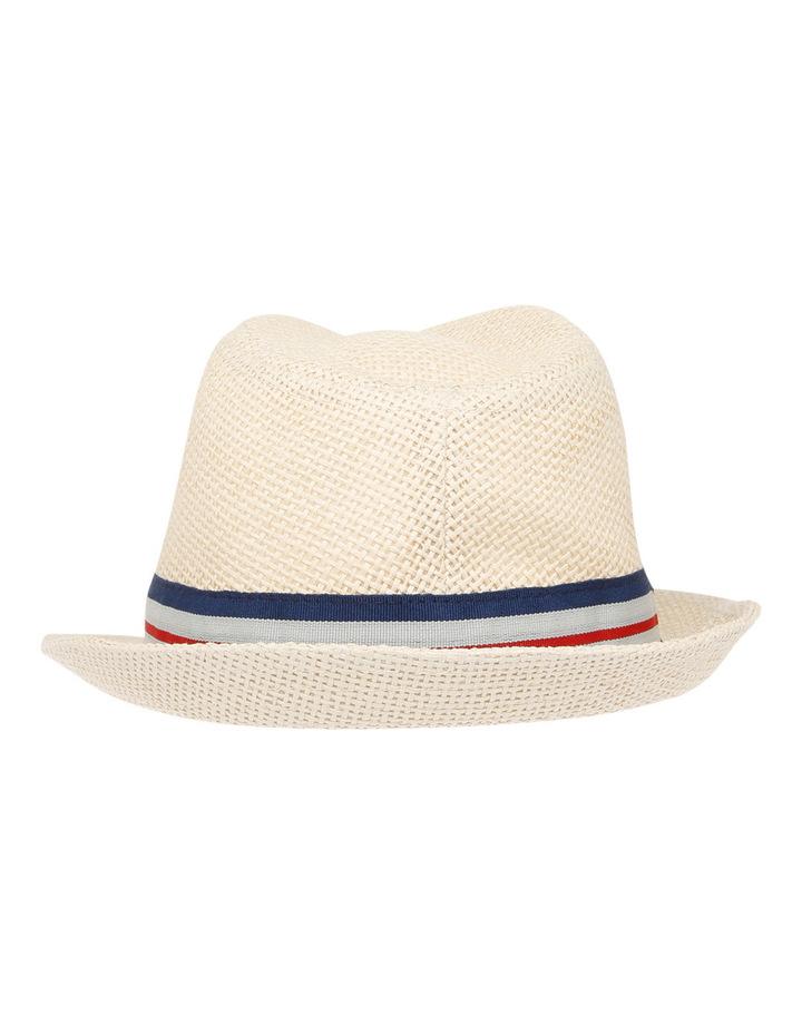 Boys Open Weave Trilby Hat image 3