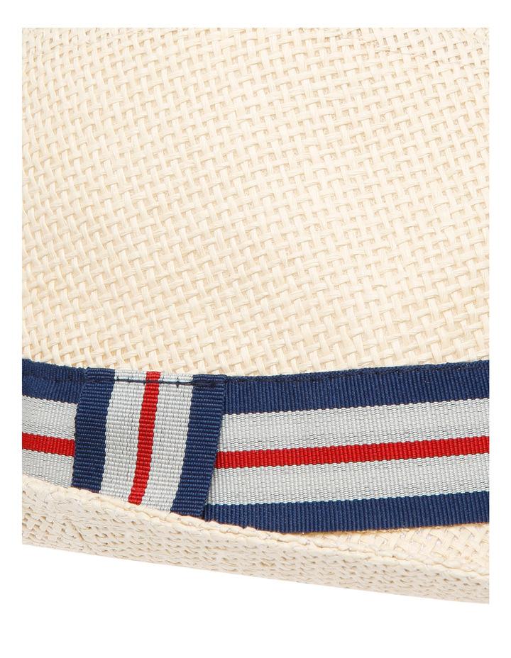 Boys Open Weave Trilby Hat image 4