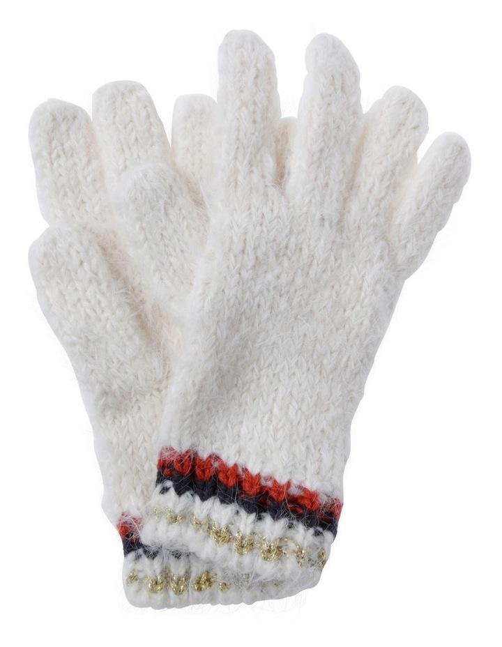 Slub Knit Gloves image 1