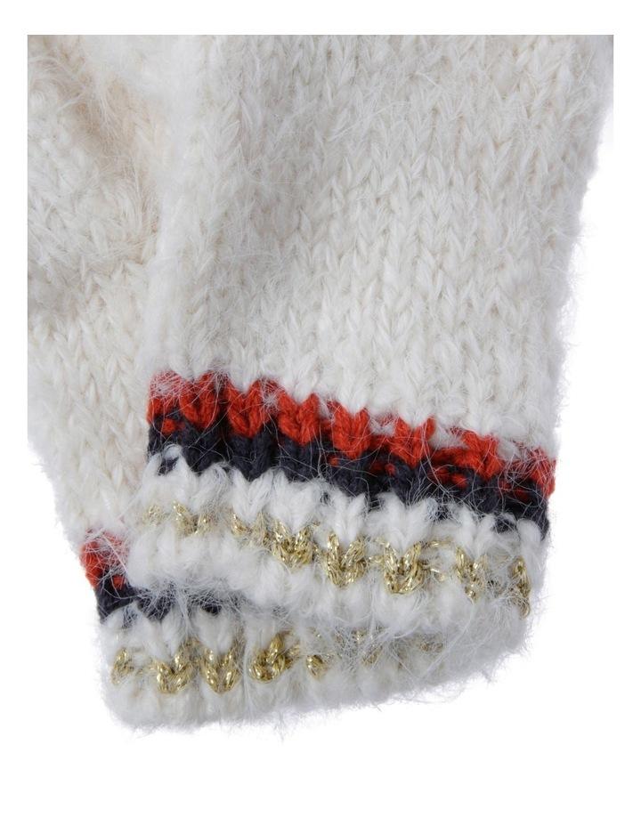 Slub Knit Gloves image 2
