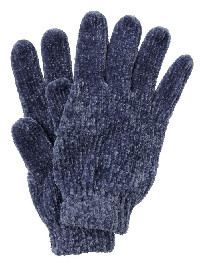 Girls Chenille Gloves image 1