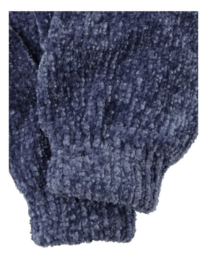 Girls Chenille Gloves image 2
