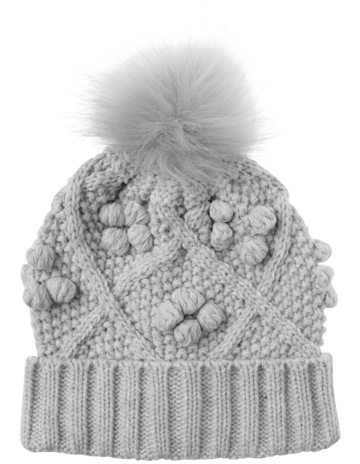 47bb0691dd9 Tilii Girls Cable and Bobble Beanie