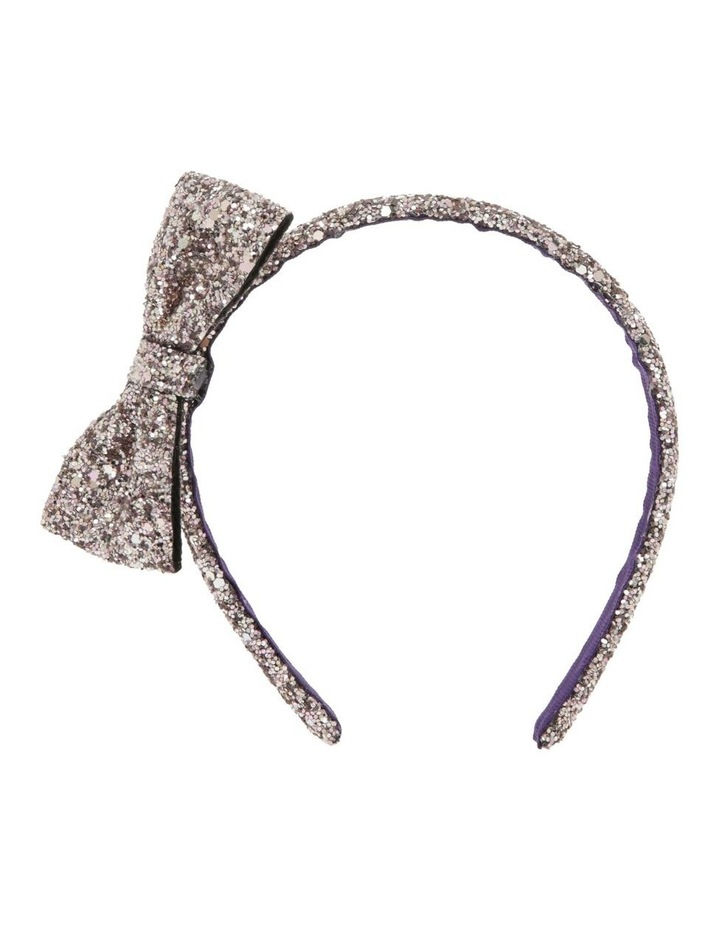 Glitter Bow Headband image 1