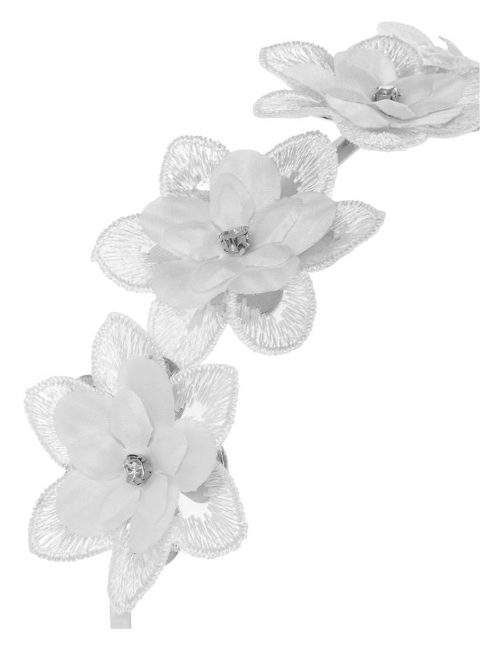 Fabric Flower Headband image 3
