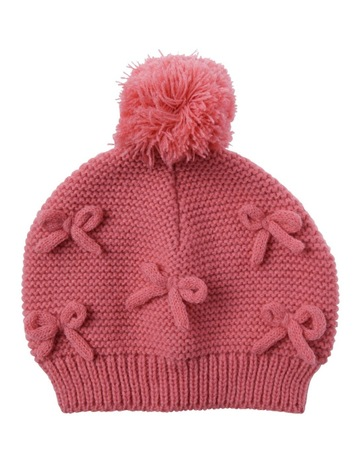 2bbd220f17367 Sprout Girls 3D Bow Beanie