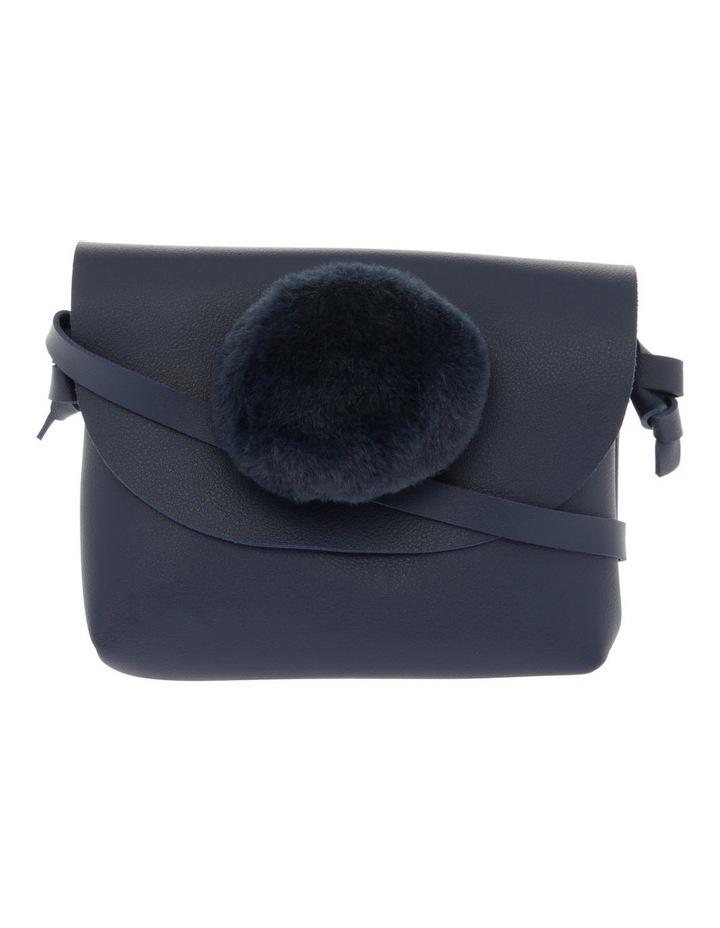 Shoulder Bag with Pom Pom image 1