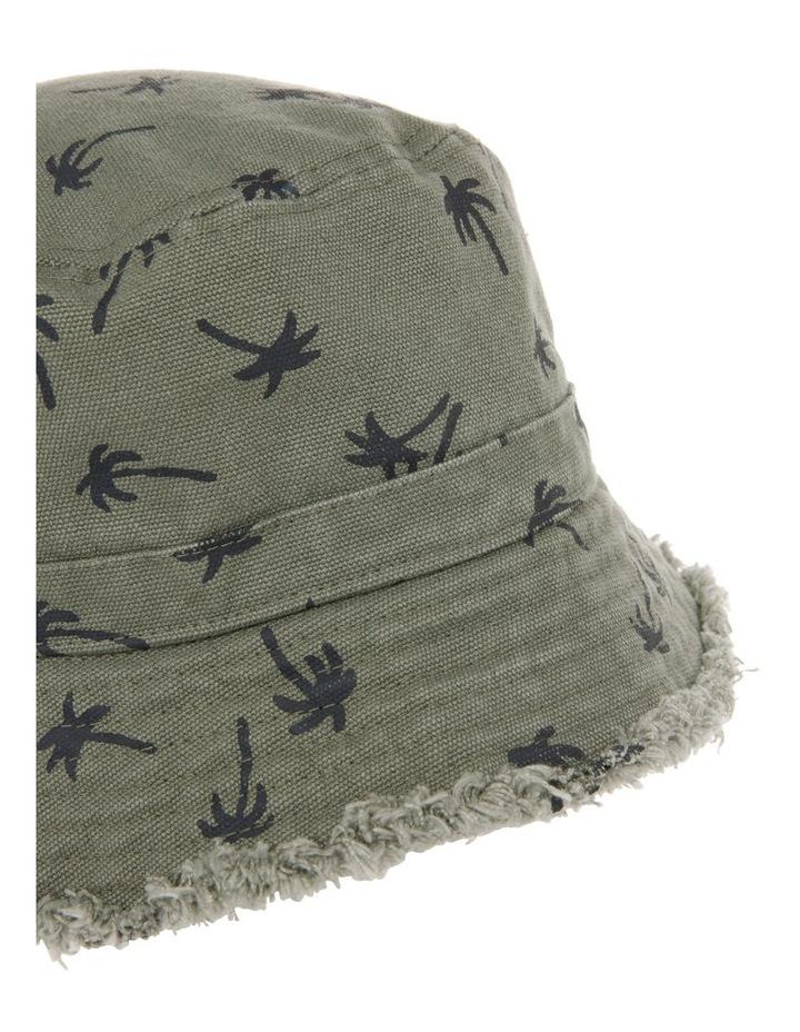 Palm Tree Print Bucket Hat image 2