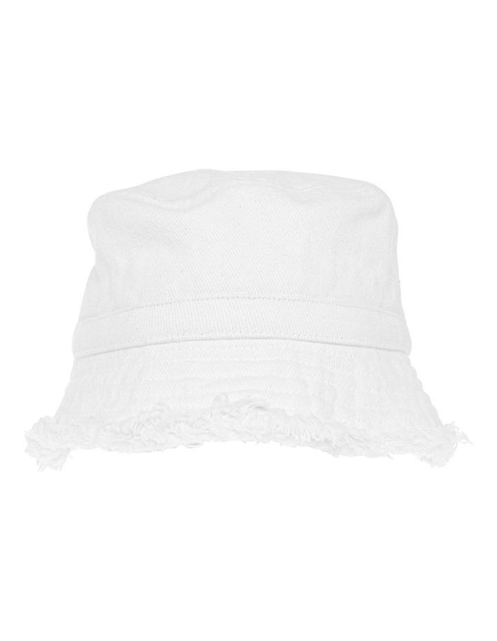 Raw Edge Bucket Hat image 1