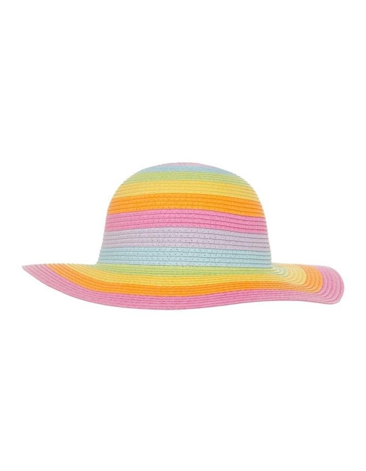 Rainbow Floppy Hat image 1