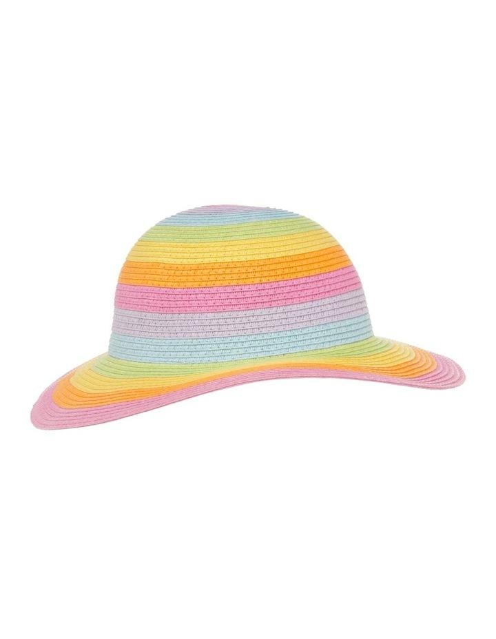 Rainbow Floppy Hat image 2